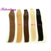 """Buy cheap 100% Remy Hair Tape In Hair Extensions, 16' To 26"""" Long, 1B Black / Light Blonde from wholesalers"""