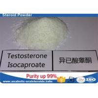 China Pure Testosterone Steroid Testosterone Isocaproate Powder 15262-86-9 No Side Effect wholesale