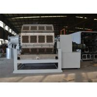 China Full Automatic Pulp Molding Machine Industrial Packaging Tray Machine PLC Control on sale
