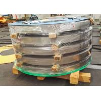 China Precision Cold Rolled Stainless Steel Strip 0.05mm - 1.2mm Thickness wholesale