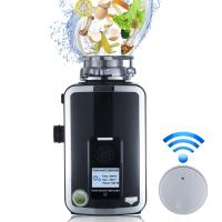 China DSKZR New Kitchen Food Garbage Processor Disposal Crusher DC motor white color with remote control wholesale
