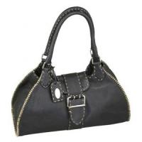 China 2012 new design man fashion bag Genuine leather handbag CS004-01 wholesale