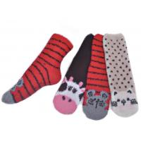 China Warm spa aloe infused socks for men polyester plush therapy SSP-20 wholesale