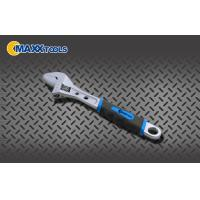China Professional Drop Forged Tools Two Hexagon Hole Crescent 10 Adjustable Wrench wholesale