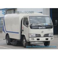 China Dongfeng 3500L Road Sweeper Truck Small 4 X 2 500KG 66KW 90HP wholesale