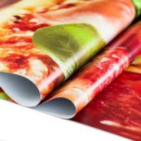 China polyester waterproof fabric roll blockout Scrim Vinyl Banner for digital printing wholesale