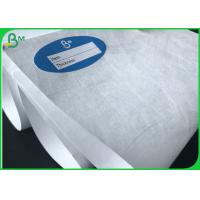 China White Waterproof Acid Resistant Tyvek Paper / Dupont Paper For The Medical wholesale