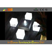 China LED round bar stool , bar chair Glowing Furniture built-in RGB LED light with 16 colors wholesale