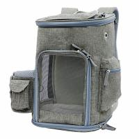 China Lightweight Airline Approved Pet Carrier Bag With Locking Clasps & Fleece Padding wholesale
