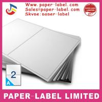 China Label Dimensions: 210mm x 148mm Software Compatible Codes: DPS02 A4 labels wholesale
