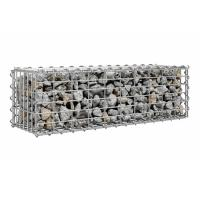 China Practical Gabion Retaining Wall with Cover Stable Gridwall Panels Gabion Basket wholesale