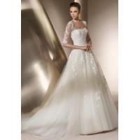China a-Line Strapless Bridal Gowns wholesale