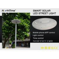 China Plaza Garden Solar Powered Led Light With Phone APP Control CE / RoHS wholesale