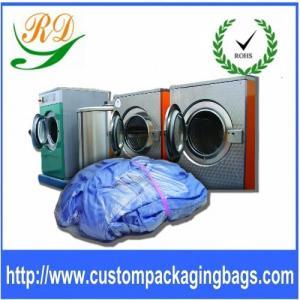 China Plastic Drawstring Laundry Bags on sale