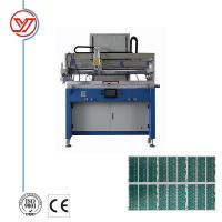 China YO70100 Flatbed Semi Automatic Screen Printing Machine For Flat Surface Material on sale