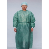 China Medical XXL Disposable Protective Apparel With Knitted Cuffs wholesale