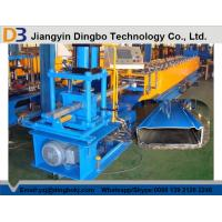 Buy cheap Warehouse Rack Shelving Box Beam Roll Forming Machine with Cr 12 Quenched Cutter from wholesalers