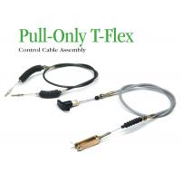 China High Tensile Industrial Control Cables , Pull - Only T - Flex Control Cable Assembly wholesale