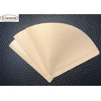 China Bleached coffee filter paper V shape V01 02  100pcs packed on sale
