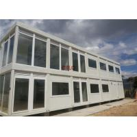 China 20ft Steel Frame Mobile Container House Prefab Movable For Hotel Labor Camp wholesale