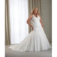 China Halter Plus Size Bridal Gown wholesale