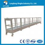 China Aluminum suspended platform / suspended access platform / rope suspended platform wholesale