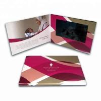 China lcd video brochure visiting card for weddings, happy birthdays and general greetings wholesale