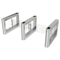 China Manufacturing Ip54 Low Noise SS304 Pedestrian Security Swing Turnstile Gates wholesale