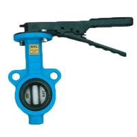 China Compact Structure Flowseal Butterfly Valve Resilient Seated Butterfly Valves on sale