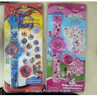 China PLASTIC 20 IMAGE PROJECTOR WATCH - wholesale