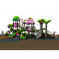 China Safe Reliable Childrens Plastic Playground Equipment Waterproof Custom Design wholesale