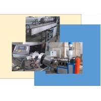 China Suction Discharge PP Pipe 5r/Min Pipe Manufacturing Machine on sale