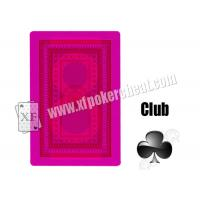 China Magic Poker Revelol DX 555 Invisible Playing Marked Cards For Contact Lenses Gambling Cheat wholesale