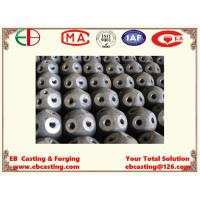 China Large Carbon Steel Bolting Balls with Threads with Welding Process for Engineering Project EB15017 wholesale