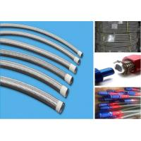 China An6 oil cooler hose rubber 304 stainless steel wire braided an hose high pressure temperature assembly hydraulic hose li wholesale