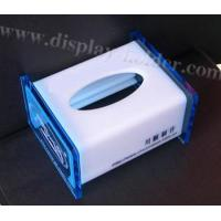 China Top Open Acrylic Tissue Box (TB-010) wholesale