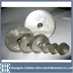 China China Manufacturer Flat Electroplated Diamond Grinding Wheel wholesale