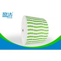 China Green Color  Printed Paper Roll ,Width Of 835mm For 9 OZ Paper Cups on sale