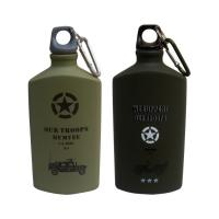 China Aluminium Water Bottle Hiking Outdoor Cycling Sports Cap Flask Bicycle Water Bottle Aluminum Kettle wholesale