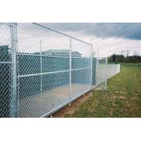 China PVC Coated Chain Link Fence/ Screen With Round Post/Chain link wholesale