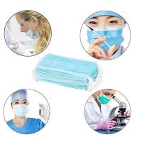 China Eco Friendly Disposable Surgical Mask High BFE With Adjustable Nose Piece wholesale
