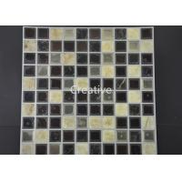 China Customized Decorative Self Adhesive Gel Wall Tiles For Bathroom wholesale