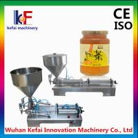 China Stainless steel portable paste filler machine from China supplier,tabletop semi automatic wholesale