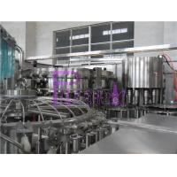 China 32 Heads 8000 Bottles / Hour Soft Drink Filing Line For PET Bottle on sale