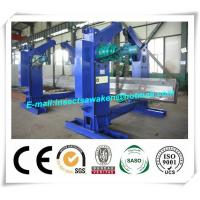 China Chain Type Turning H Beam Welding Machine Half Automatic 4 Tons Chain Tilter wholesale