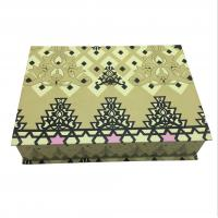 China Art Paper Custom Clothing Packaging Boxes , Folding Apparel Gift Boxes wholesale