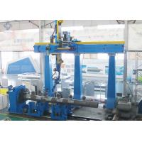 China Sit - on Big Nozzle MAG Welding Machine Station for Boiler Header wholesale