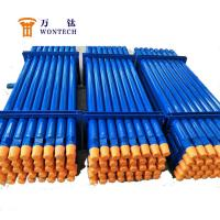 China High Flatness DTH Drill Pipe For Deep Well Drilling 127mm/152mm Corrosion Resistance wholesale