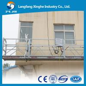 China 6m suspended platform / window cleaning equipmemt / cradle / gondola wholesale