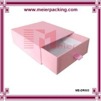 China Laminated design paper custom luxury gift box packaging ME-DR005 on sale